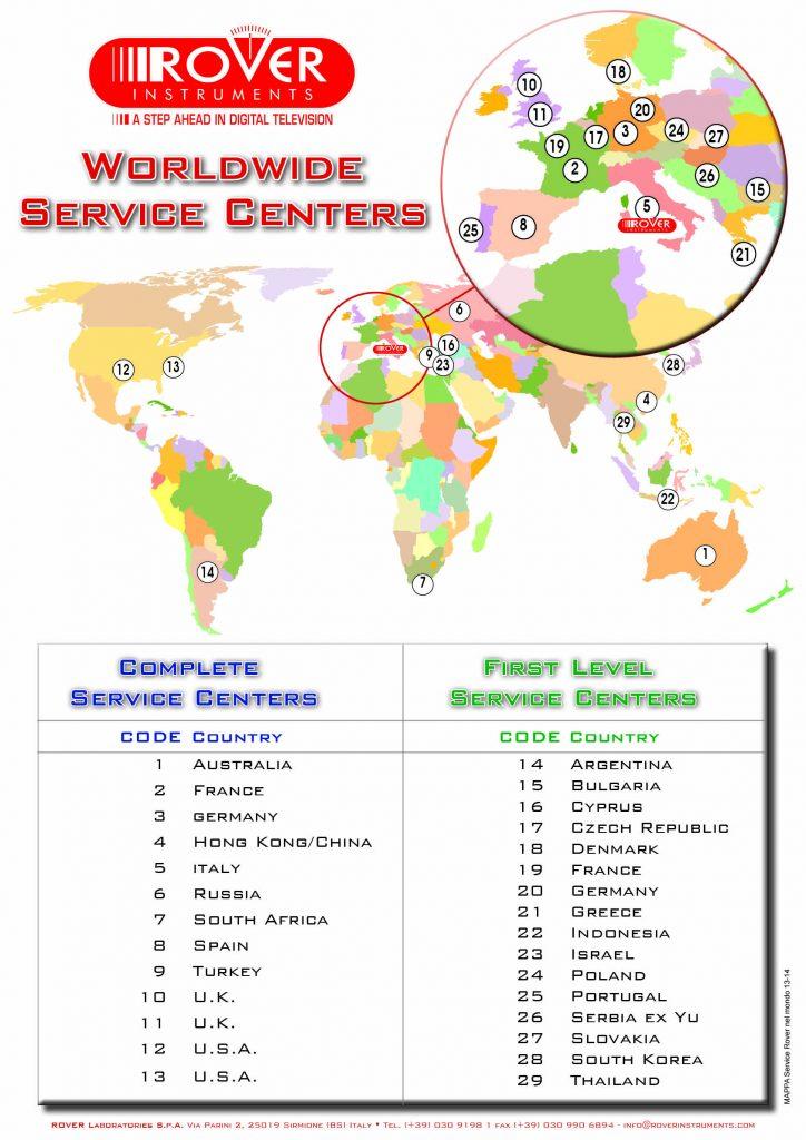 ROVER Worldwide Service Center 2014