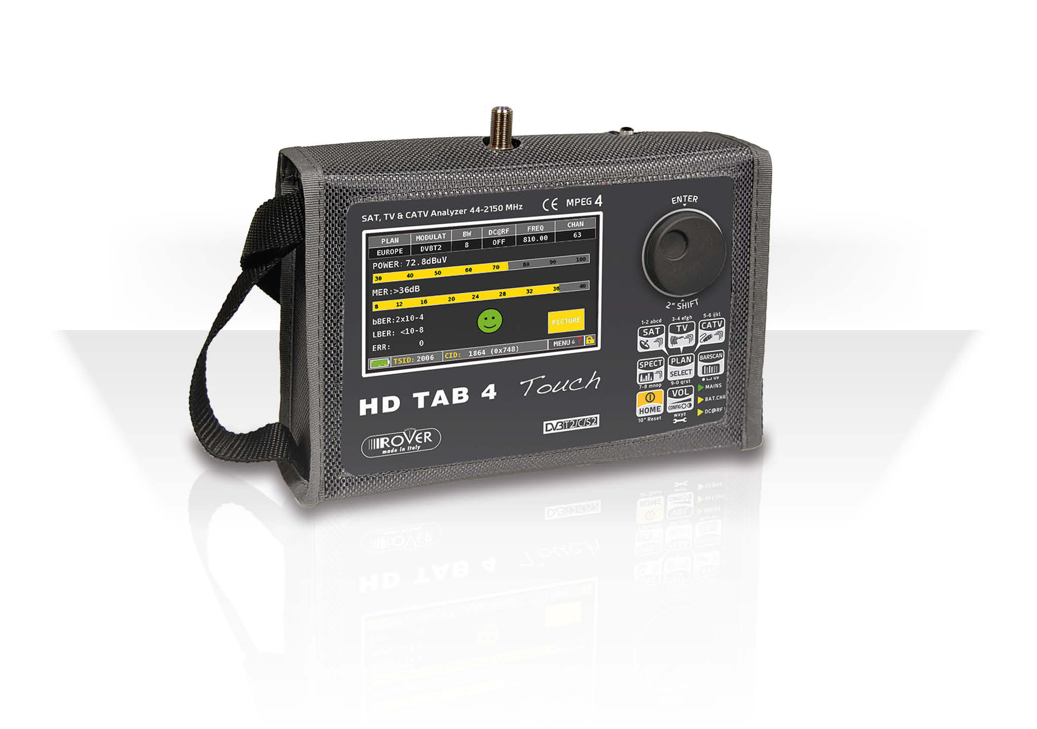 HD TAB 4 Touch - Rover Laboratories