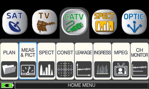 ROVER HD TAB 900 Series CATV MEAS PICT