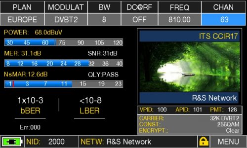 ROVER HD TAB 900 Series MEAS TV T2