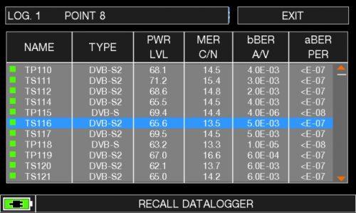 ROVER HD TAB 900 Series SAT RECALL DATALOGGER 3