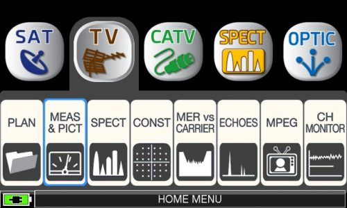ROVER HD TAB 900 Series TV MEAS PICT