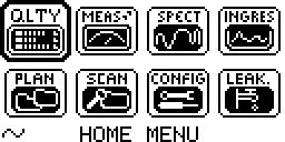 QAM Expert home menu