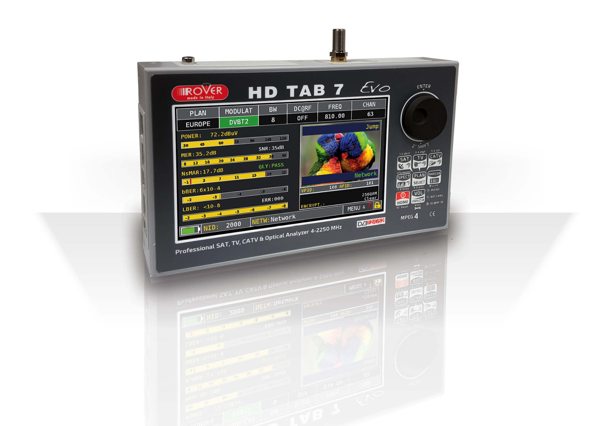 HD TAB 7 Evo - Rover Laboratories