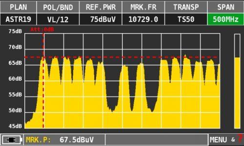 ROVER HD TAB 7 Series SAT spectrum