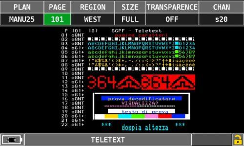 ROVER OMINA 7000 teletext