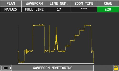 ROVER OMINA 7000 waveform monitoring