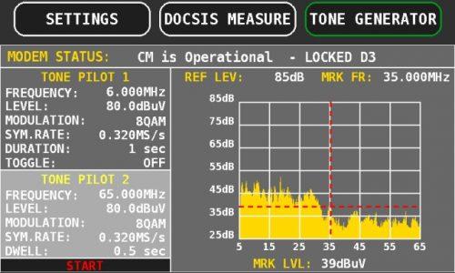 ROVER OMNIA 7000 tone generator