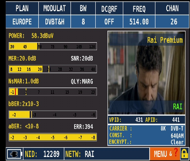 ROVER HD_Series_MEAS_DVB-T