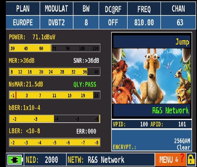 ROVER HD_Series_MEAS_DVB-T2