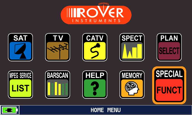 ROVER_HD_Series_HOME_MENU_SOECIAL_FUNCT