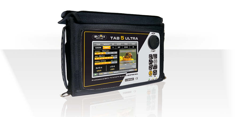 ROVER INSTRUMENTS - TAB 5 ULTRA bag 12-2020