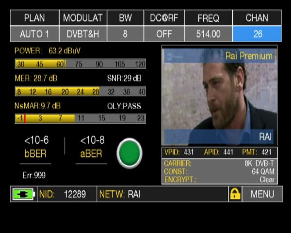 ROVER HD TAB Series - PASS status